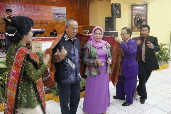 Yustin Ficardo Sosialisasi Stunting di Lampung Tengah