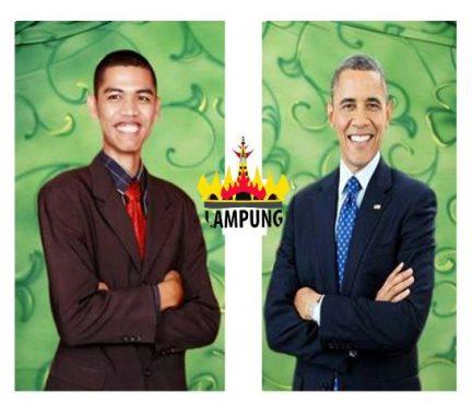 """Ketika """"Barack Obama"""" Ikut Urus Pilkada Serentak di Lampung"""