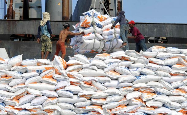 Sebanyak 20 Ribu Ton Beras Impor Asal Vietnam Masuk Pelabuhan Panjang Bandar Lampung