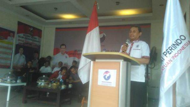 PILGUB LAMPUNG: Ridho Ficardo Hadiri HUT Ke-10 Gerindra, Sebut Pilgub Kunci Naikkan Suara Pemilu dan Pilpres