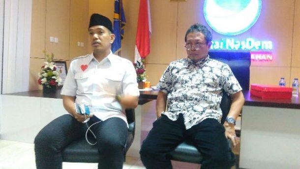 PILGUB LAMPUNG: Mustafa Mundur, Taufik Basari Jadi Plt. Ketua Nasdem