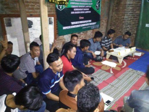 Rapat Anggota Komisariat HMI Fakultas Dakwah UIN Raden Intan Cacat, Anggota Tak Terima Ketum Terpilih