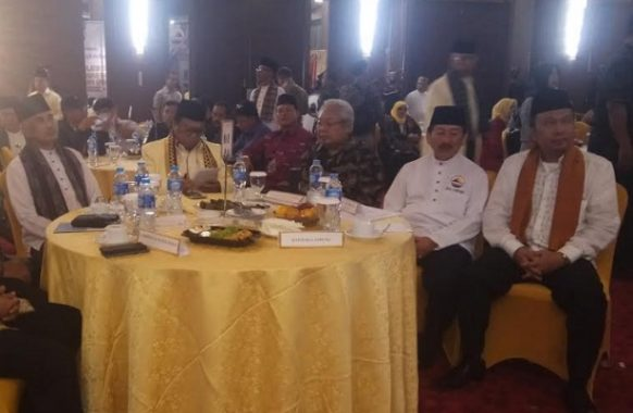 Ketua DPP Hanura Oesman Sapta Odang Hadiri acara Pelantikan DPW Gebu Minang Lampung