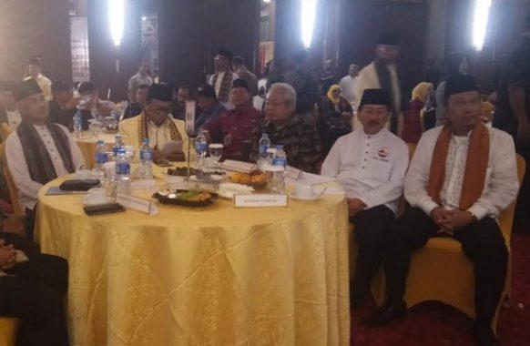 Hadiri Pelantikan DPW Gebu Minang, Wali Kota Bandar Lampung Herman HN Pulang Lebih Awal
