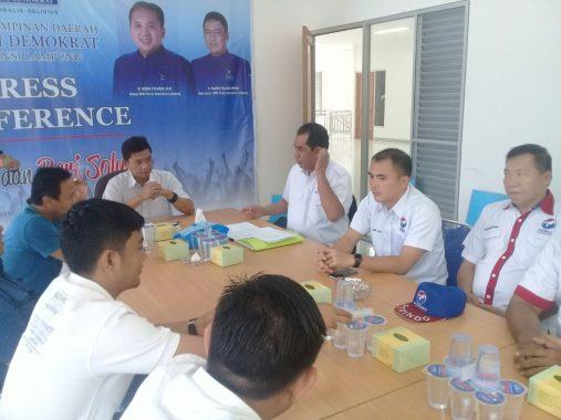 PILGUB LAMPUNG: Perindo Lampung Dukung Ridho-Bachtiar