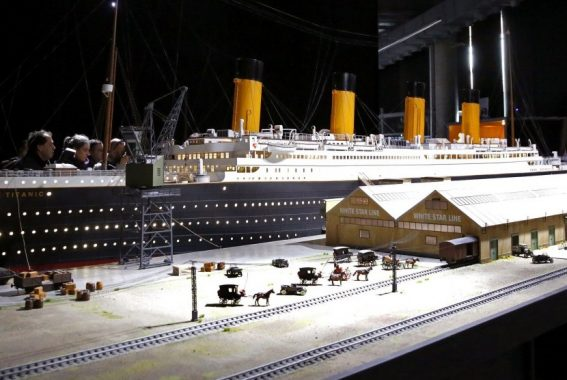 China Buat Replika Kapal Titanic yang Tak akan Tenggelam