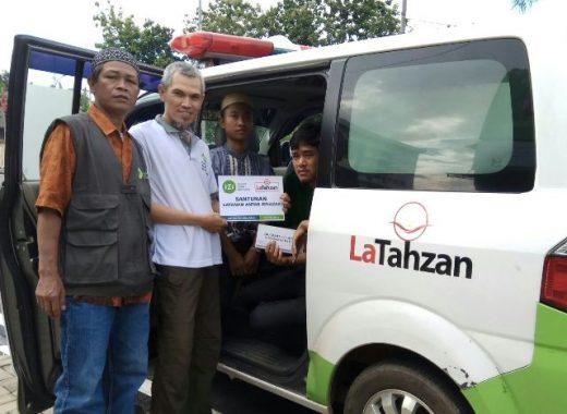 IZI Lampung Antar Jenazah Bapak Satum ke Lampung Barat