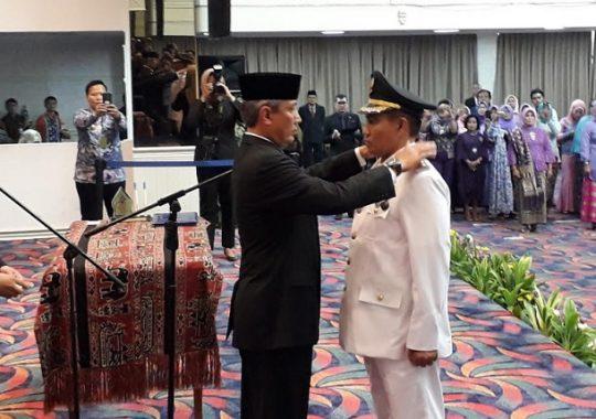 Zainal Abidin Resmi Dilantik Sebagai Penjabat Bupati Tanggamus