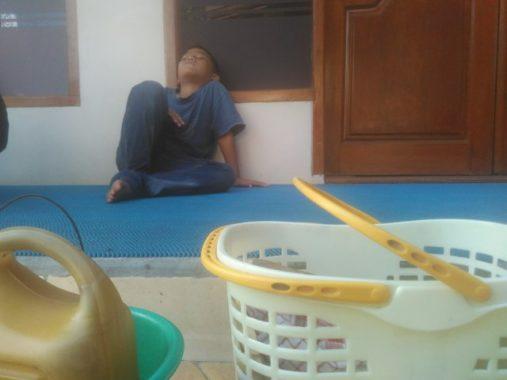 Pasha, Bocah Penjual Pempek di Bandar Lampung, Bercita-Cita Jadi Polisi