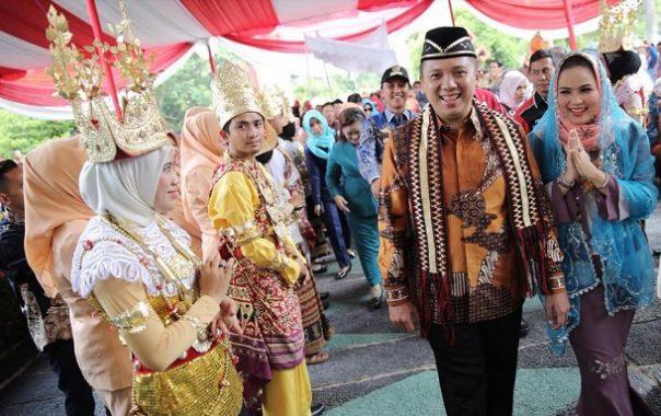 Gubernur Ridho Ficardo Kunjungan Kerja ke Kabupaten Tulang Bawang