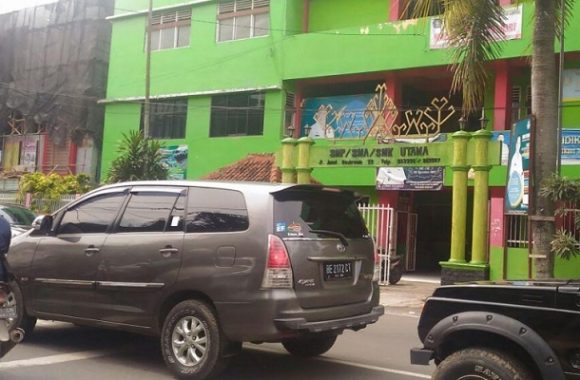 Polresta Bandar Lampung Mediasi Pelajar SMA Utama dan SMK Utama 2