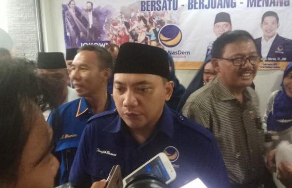 PILGUB LAMPUNG: Taufik Basari Yakinkan DPW Nasdem All Out Menangkan Mustafa-Jajuli