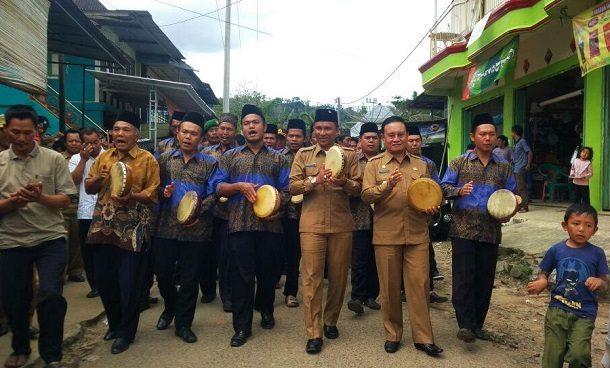 Bupati dan Wakil Bupati Lampung Barat Hadiri Musrenbang Kecamatan Way Tenong