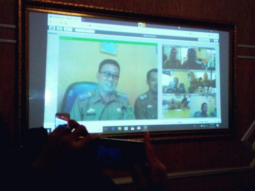 Plt. Bupati Lampung Timur Zaeful Bokhari Coba Fasilitas Media Center Kominfo, Diklaim Pertama di Lampung