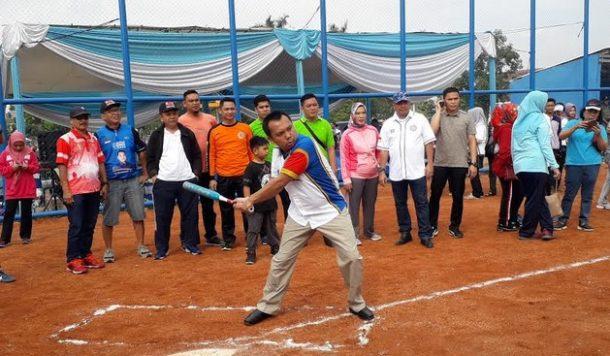 Resmikan Lapangan Baru, Gubernur Lampung Minta Atlet Softball dan Baseball Tingkatkan Prestasi