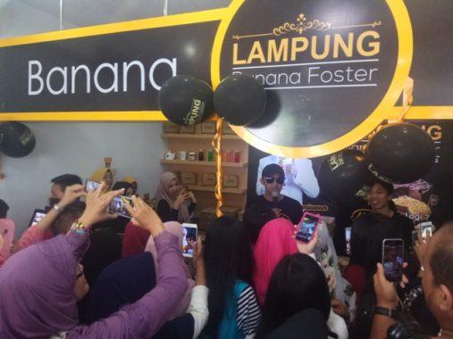 Banana Foster Lampung Luncurkan Molten Banana Crispy dan Lumer di Mulut