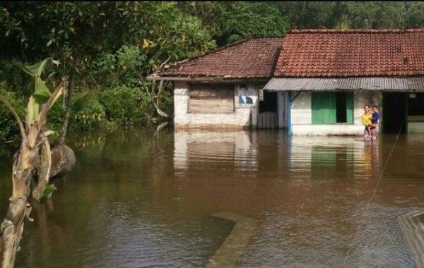 Pemkab Lampung Tengah Belum Mampu Tuntaskan Banjir