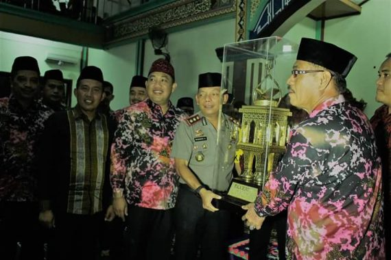 Syukuran dan Pesta Rakyat di Malam Puncak HUT Lampung ke-54