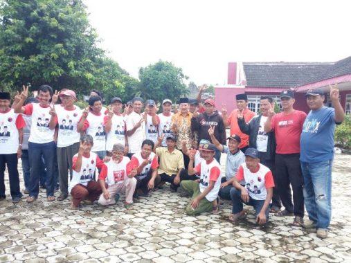 PILGUB LAMPUNG: Herman HN Dengarkan Keluhan Rakyat Lampung Utara