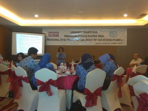 Progres Penyusunan Perwali Perlindungan PRT di Bandar Lampung Sudah 80 Persen
