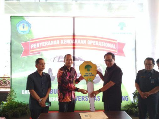 Bank Bukopin Lampung Beri Bantuan Mobil untuk Universitas Lampung