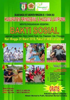 Kagama Lampung Gelar Bakti Sosial di Pringsewu