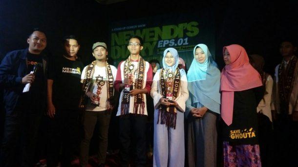 ACT Lampung Gandeng Komika New Wendi Kukuhkan 15 Duta Pelajar Kemanusiaan