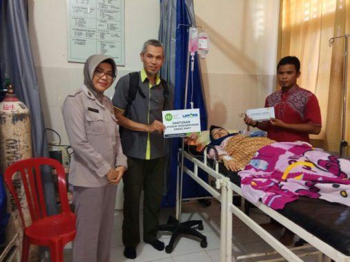IZI Bantu Biaya Operasi Ria Anggraini yang Bayinya Meninggal dalam Kandungan