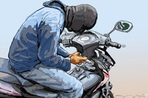 Tiga Motor Dicuri dalam Satu Malam di Tumijajar