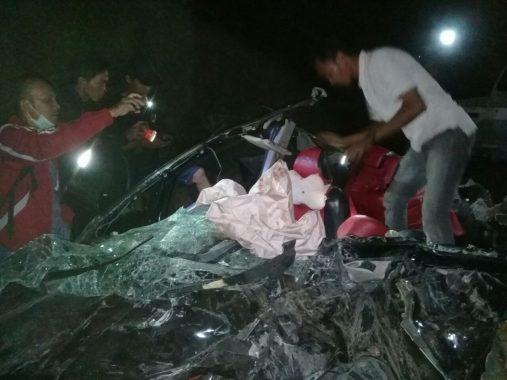 Jasa Raharja Santuni Korban Kecelakaan Beruntun di Tarahan Lampung Selatan