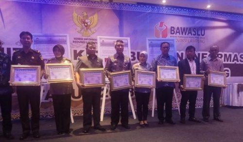 Komisi Informasi Lampung Gelar Deklarasi Keterbukaan Informasi Jelang Pilkada Serentak 2018