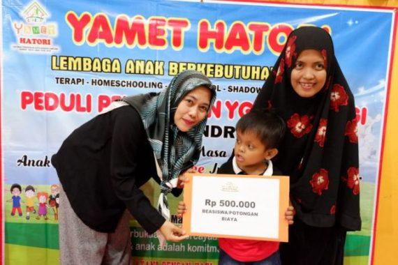 Peringati Hari Down Syndrome, Yamet Hatori Beri Beasiswa