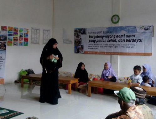 Luncurkan Program Rumah Umat Berkah di Metro, ACT Lampung Bagikan Bantuan
