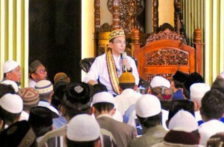 Gubernur NTB Bicara Moderasi Islam di Masjid Ad-Du'a Bandar Lampung