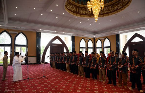 Bupati Lampung Selatan Lantik Dewan Hakim MTQ ke-47