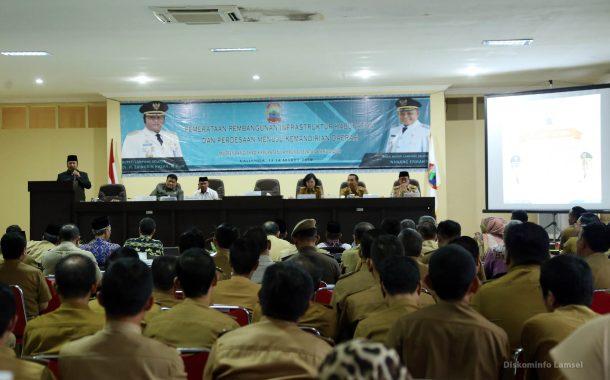 Musrenbang Lampung Selatan, Zainudin Hasan Ingatkan Pentingnya Sinergitas