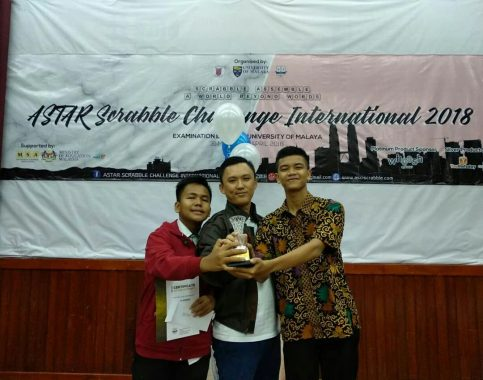 Siswa Pringsewu Juara 1 Ajang Scrabble Tingkat Internasional di Malaysia