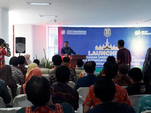 Sinergi Pelayanan Terpadu Pemkot Bandar Lampung dan BPJS Ketenagakerjaan-BPJS Kesehatan Resmi Diluncurkan
