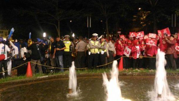 PILGUB LAMPUNG: Ratusan Polisi dan 2 Anjing Pelacak Siaga Amankan Debat Kandidat
