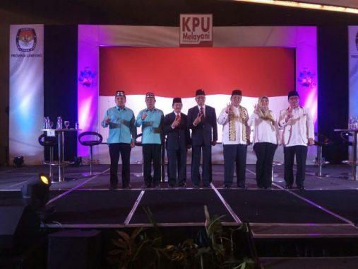 PILGUB LAMPUNG: Ini Kronologis Debat Publik Jilid I di Novotel Lampung