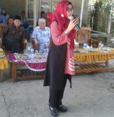 PILKADA TANGGAMUS: Ini Janji Dewi Handajani Saat Kampanye di Pematangsawa