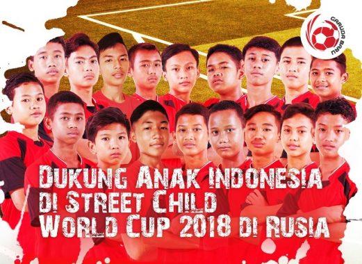 Program Garuda Baru Siap Wujudkan Mimpi Anak Jalanan Jadi Pemain Bola Top