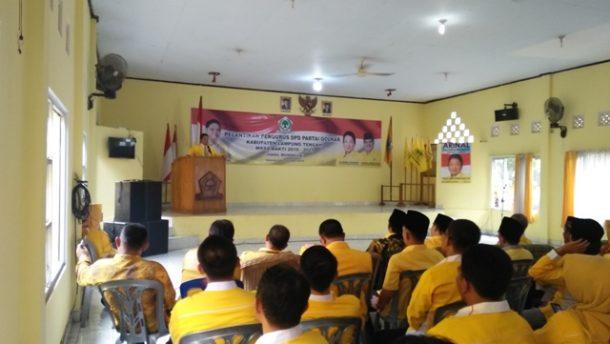 Arinal Djunaidi Lantik Musa Ahmad Ketua DPD II Golkar Lampung Tengah