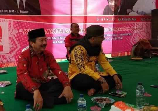 PILGUB LAMPUNG: Masyarakat Pringsewu Sebut Herman HN Bapak Pembangunan Lampung
