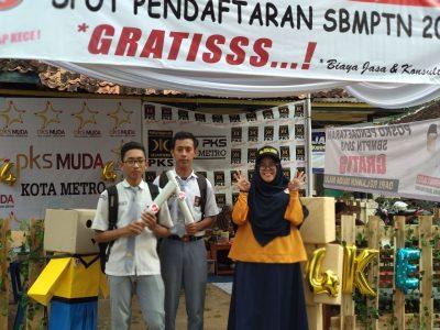 GEN KECE Lampung Bantu Calon Mahasiswa Daftar SBMPTN