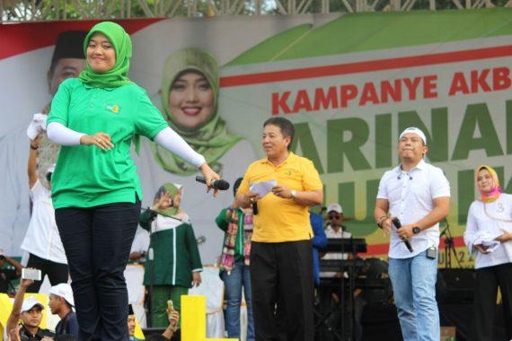 PILGUB LAMPUNG: Kampanye Akbar, Arinal-Nunik Jual 9 Program Lampung Berjaya