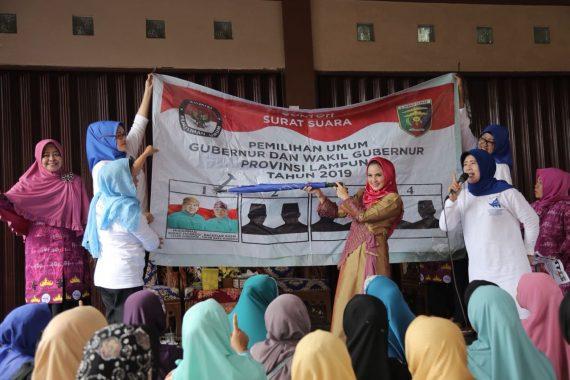 PILGUB LAMPUNG: Warga 7 Desa di Kecamatan Melinting Lamtim Kompak Menangkan Ridho Ficardo