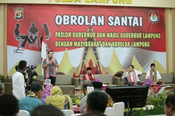 PILGUB LAMPUNG: Ridho: Pilgub 2018 Batu Lompatan menuju Lampung Maju dan Sejahtera