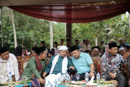 PILGUB LAMPUNG: Ulama dan Masyarakat Bangunrejo Lamteng Dukung Ridho Ficardo