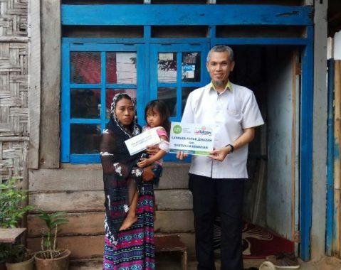 IZI Lampung Bantu Keluarga Abdul Rahman Mualaf Meninggal Mendadak Sakit Jantung